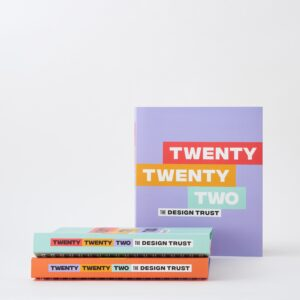 The Design Trust diary planner 2022, incl. 6 hours online business training